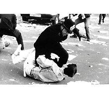 Poll Tax Riots, London Photographic Print