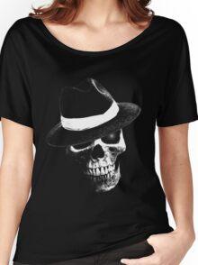 Jazz Skull Women's Relaxed Fit T-Shirt