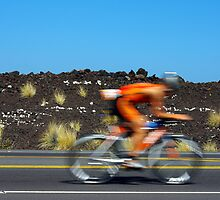 Going it alone - Kona Ironman by jjshoots