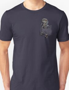 Pocket Protector - Blue Unisex T-Shirt