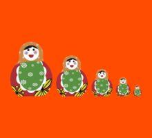 Cute Russian nesting dolls Kids Clothes