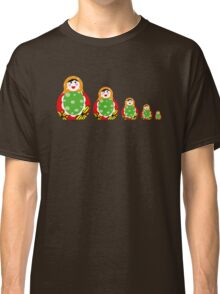 Cute Russian nesting dolls Classic T-Shirt