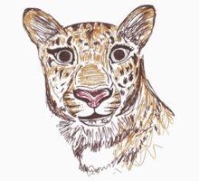 Amur Leopard Kids Tee