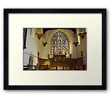St Olave's - Marygate - York Framed Print