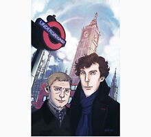 Sherlock and John in London T-Shirt