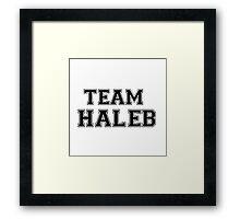 Pretty Little Liars Team Haleb Framed Print