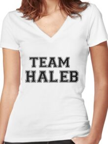 Pretty Little Liars Team Haleb Women's Fitted V-Neck T-Shirt