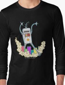 Be Careful. Colourful Robots! Long Sleeve T-Shirt