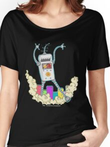 Be Careful. Colourful Robots! Women's Relaxed Fit T-Shirt