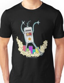 Be Careful. Colourful Robots! Unisex T-Shirt