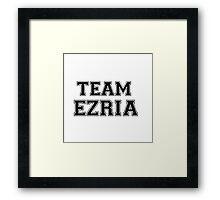Pretty Little Liars Team Ezria Framed Print