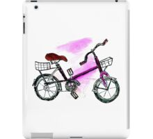 Painted Bicycle iPad Case/Skin