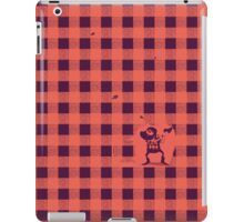 Almost a lumberjack pattern iPad Case/Skin