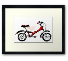 Painted Bicycle 2 Framed Print