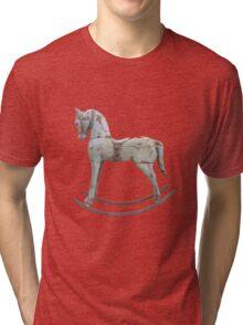 Vintage rocking horse Tri-blend T-Shirt
