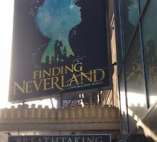 Finding Neverland Marquee by emjorgenson