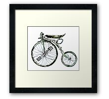 Painted Bicycle 3 Framed Print