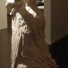 Cloth Mother, plaster & wire sculpture, 2009 by Becky Nevin