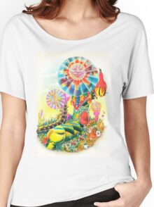 Psychedelic Caterpillar  Women's Relaxed Fit T-Shirt