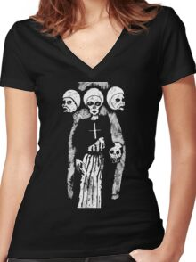 Cast Shadows Women's Fitted V-Neck T-Shirt