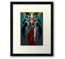 The Woman Who Cried Reaper Framed Print