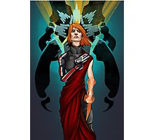 The Woman Who Cried Reaper Photographic Print