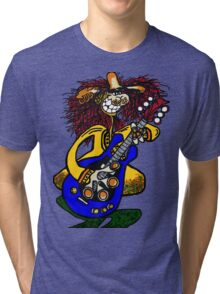 COOL GUITAR Tri-blend T-Shirt