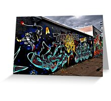 Street Art in Denver Greeting Card