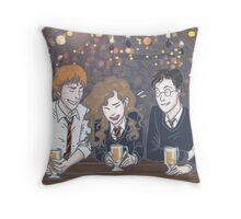 Harry Potter - The Golden Trio Throw Pillow