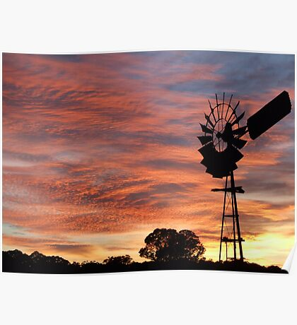 Aussie Sunrise Poster
