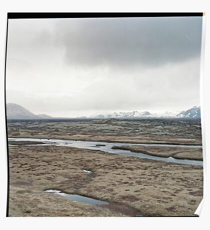 Emptiness of a Landscape Poster