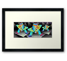 Three Musicians Framed Print