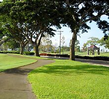 Mt. Malarayat Golf Course Pathway by walterericsy