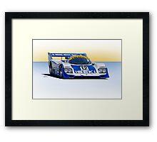 1982 Porsche 935 IMSA GT Framed Print