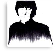 John Lennon Monochrome Design Canvas Print