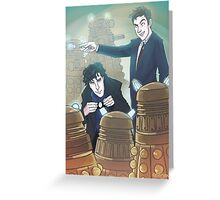 Sherlock and Ten Greeting Card