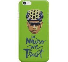 In Nairo We Trust : Illustration on Movistar Green iPhone Case/Skin