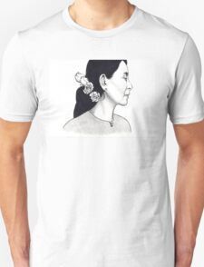 Aung San Suu Kyi Illustration Unisex T-Shirt