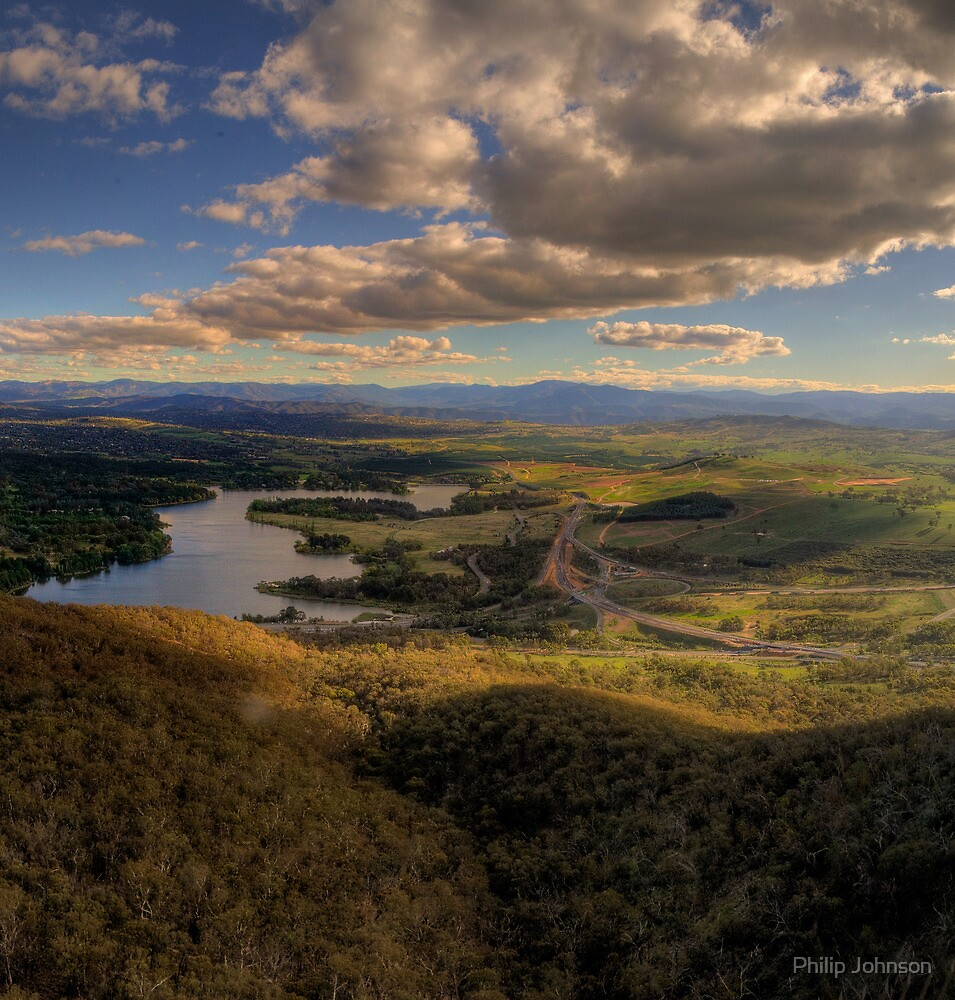 Up In The Air  #1- Black Mountain, Canberra - The HDR Experience by Philip Johnson