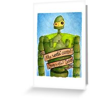Laputa: Castle In The Sky Illustration - ROBOT Greeting Card