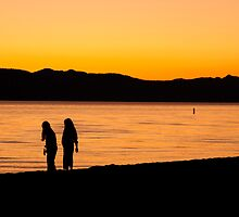 End of a Summer Day by Justin Baer