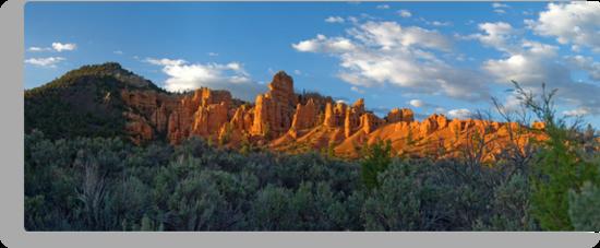 Red Canyon Panorama by Brian Hendricks