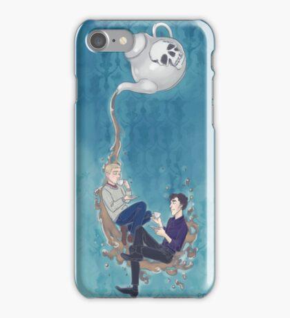 Johnlock Tea Time iPhone Case/Skin
