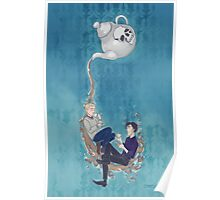 Johnlock Tea Time Poster