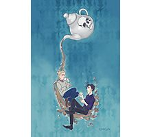 Johnlock Tea Time Photographic Print