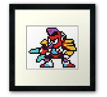 tengu man Framed Print