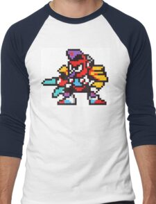 tengu man Men's Baseball ¾ T-Shirt