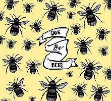 Save The Bees  by alienteacup