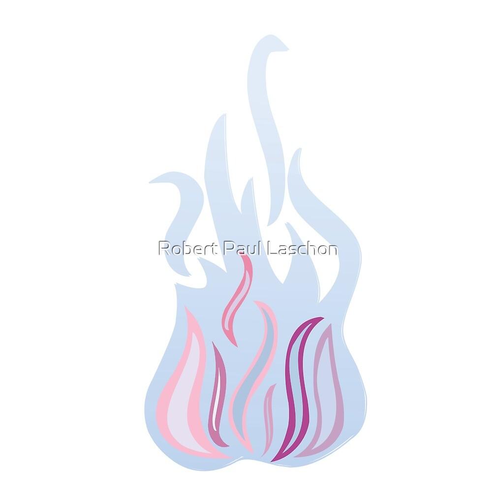 Blue fire by Laschon Robert Paul