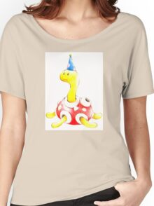 Shuckle in a Party Hat Women's Relaxed Fit T-Shirt